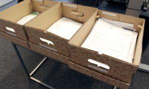 Ablagesystem Kisten