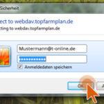 WebDAV Login