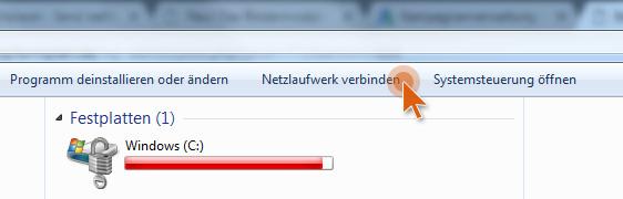 WebDAV Laufwerk einrichten