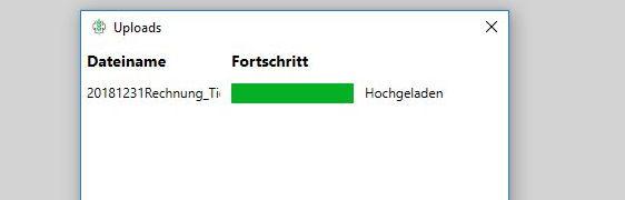 Dateien hochladen