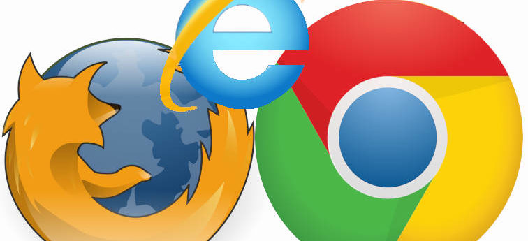 Internet Explorer Mozilla Firefox Google Chrome