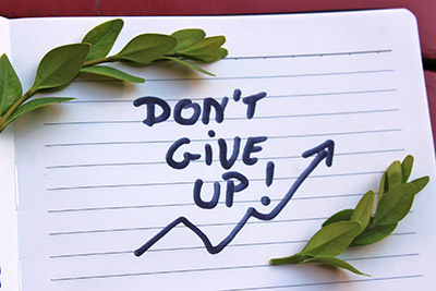 Gib nicht auf