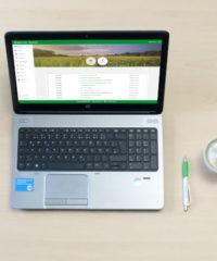 Revisionssicherheit top farmplan stockbild