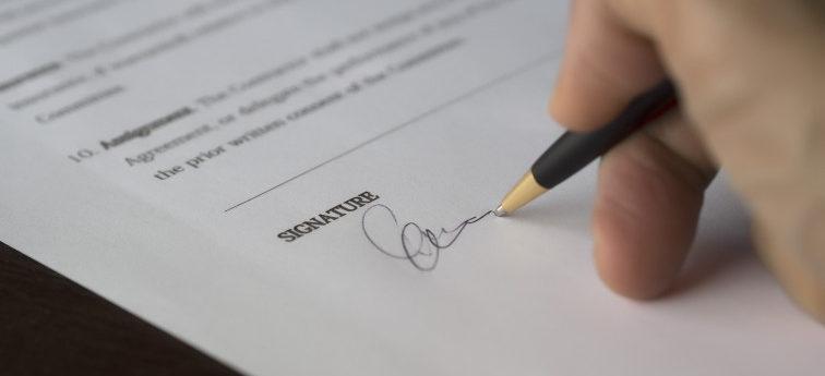 E-Mail Signatur unterschrift