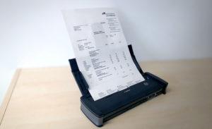 dokumentenscanner schreibtisch einscannen