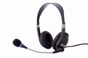 Headsets helfen im Homeoffice.